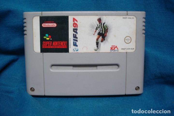 JUEGO FIFA 97 PARA SUPER NINTENDO (Juguetes - Videojuegos y Consolas - Nintendo - SuperNintendo)