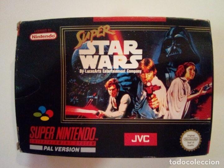 CAJA DE JUEGO SNES-SUPER STAR WAR-PAL (Juguetes - Videojuegos y Consolas - Nintendo - SuperNintendo)