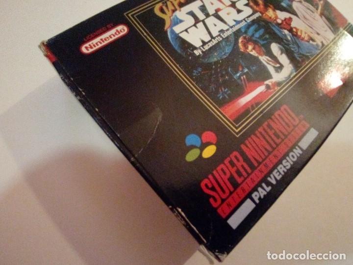 Videojuegos y Consolas: CAJA DE JUEGO SNES-SUPER STAR WAR-PAL - Foto 2 - 173206578
