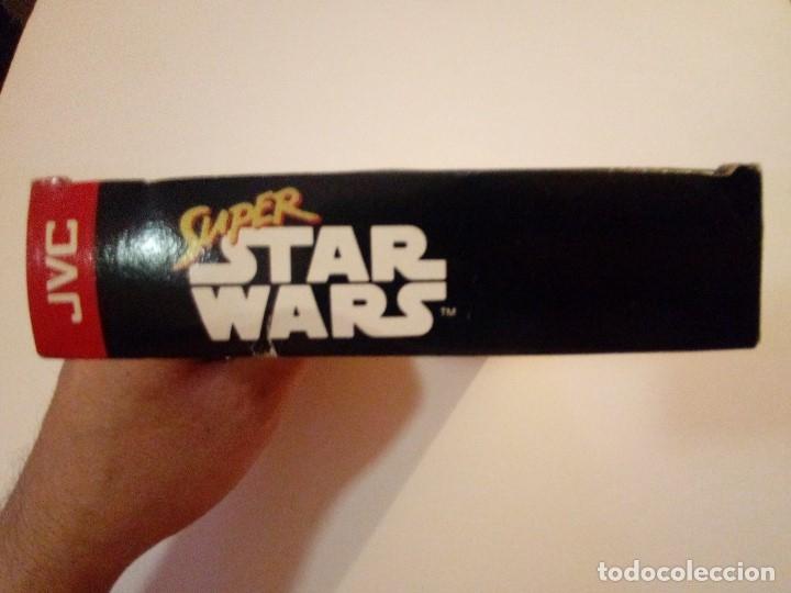 Videojuegos y Consolas: CAJA DE JUEGO SNES-SUPER STAR WAR-PAL - Foto 4 - 173206578
