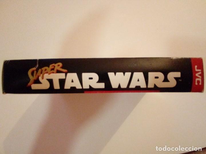Videojuegos y Consolas: CAJA DE JUEGO SNES-SUPER STAR WAR-PAL - Foto 5 - 173206578