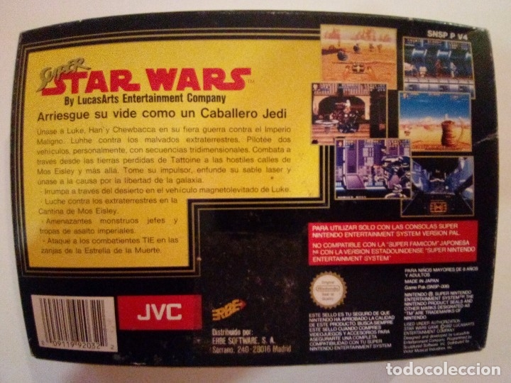 Videojuegos y Consolas: CAJA DE JUEGO SNES-SUPER STAR WAR-PAL - Foto 7 - 173206578