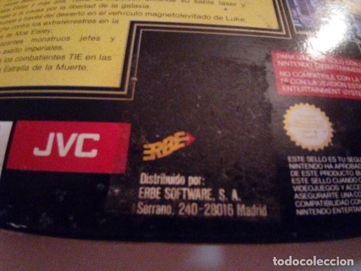 Videojuegos y Consolas: CAJA DE JUEGO SNES-SUPER STAR WAR-PAL - Foto 8 - 173206578