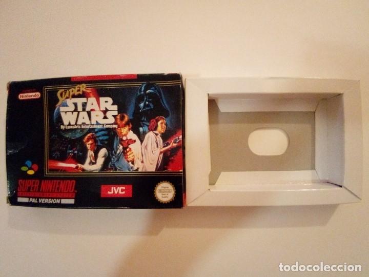 Videojuegos y Consolas: CAJA DE JUEGO SNES-SUPER STAR WAR-PAL - Foto 11 - 173206578