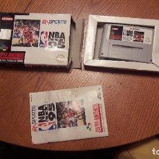 Videojuegos y Consolas: JUEGO SUPER NINTENDO NBA 95. Lote 173436498