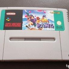 Jeux Vidéo et Consoles: JUEGO SUPER NINTENDO SNES PAL SUPER PANG RARO Y DIFICIL RETROVINTAGEJUGUETES. Lote 182376903