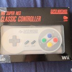 Videojuegos y Consolas: WII SUPER NES CLASSIC CONTROLLER DEL CLUB NINTENDO. Lote 175407969
