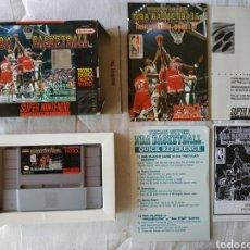 Videojuegos y Consolas: TECMO SUPER NBA BASKETBALL SUPER NINTENDO SNES. Lote 175591147