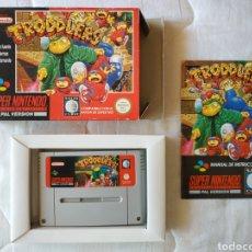 Videojuegos y Consolas: TRODDLERS SUPER NINTENDO SNES. Lote 175594979