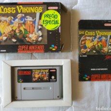 Videojuegos y Consolas: LOST VIKINGS SUPER NINTENDO SNES. Lote 175595088