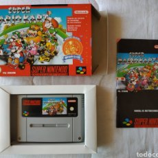 Videojuegos y Consolas: SUPER MARIO KART SUPER NINTENDO SNES. Lote 175595127