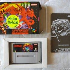 Videojuegos y Consolas: SUPER METROID SUPER NINTENDO SNES. Lote 175595153