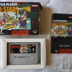 Videojuegos y Consolas: SUPER MARIO ALL STARS SUPER NINTENDO SNES. Lote 175596117