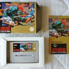 Videojuegos y Consolas: STREET FIGHTER II SUPER NINTENDO SNES. Lote 175596219