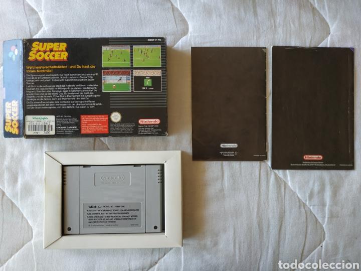 Videojuegos y Consolas: Super Soccer SUPER NINTENDO SNES - Foto 2 - 175596365