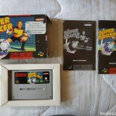 Videojuegos y Consolas: SUPER SOCCER SUPER NINTENDO SNES. Lote 175596365