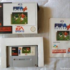 Videojuegos y Consolas: FIFA 96 COMPLETO SUPER NINTENDO SNES. Lote 175596638