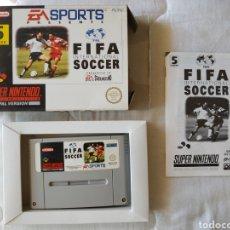 Videojuegos y Consolas: FIFA INTERNATIONAL SOCCER COMPLETO SUPER NINTENDO SNES. Lote 175596743