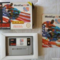 Videojuegos y Consolas: WORLD CUP USA 94 SUPER NINTENDO SNES. Lote 175596917