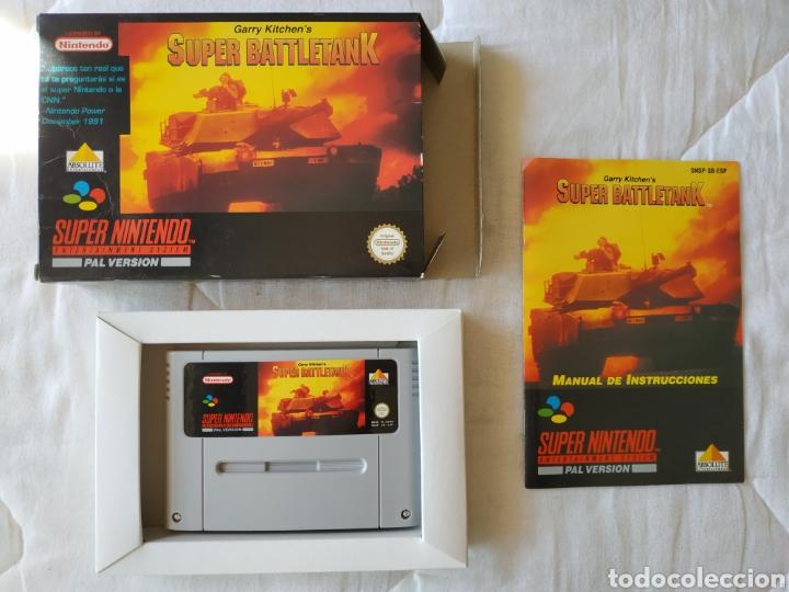 SUPER BATTLETANK SUPER NINTENDO SNES (Juguetes - Videojuegos y Consolas - Nintendo - SuperNintendo)
