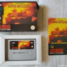 Videojuegos y Consolas: SUPER BATTLETANK SUPER NINTENDO SNES. Lote 175597032