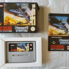 Videojuegos y Consolas: DESERT FIGHTER SUPER NINTENDO SNES. Lote 175597075