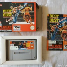 Videojuegos y Consolas: BEST OF THE BEST CHAMPIONSHIP KARATE SUPER NINTENDO SNES. Lote 175597368