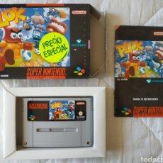 Videojuegos y Consolas: PLOK SUPER NINTENDO SNES. Lote 175597518