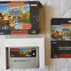 Videojuegos y Consolas: DONKEY KONG COUNTRY 3 SUPER NINTENDO SNES. Lote 175597560