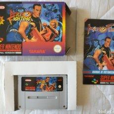 Videojuegos y Consolas: ART OF FIGHTING SUPER NINTENDO SNES. Lote 175597613