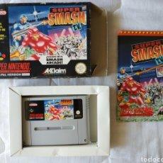 Videojuegos y Consolas: SMASH TV COMPLETO SUPER NINTENDO SNES. Lote 175597777