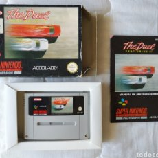 Videojuegos y Consolas: THE DUEL TEST DRIVE SUPER NINTENDO SNES. Lote 175597924
