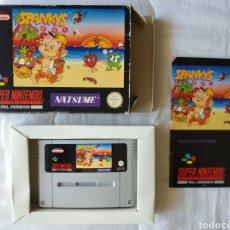 Videojuegos y Consolas: SPANKY'S QUEST COMPLETO SUPER NINTENDO SNES. Lote 175597970
