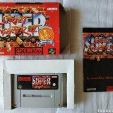 Videojuegos y Consolas: SUPER STREET FIGHTER II SUPER NINTENDO SNES. Lote 175598160