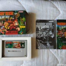 Videojuegos y Consolas: DONKEY KONG COUNTRY SUPER NINTENDO SNES. Lote 175598352