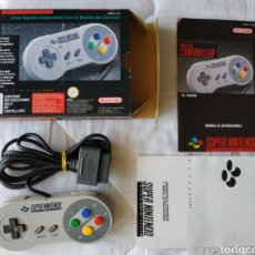 Videojuegos y Consolas: MANDO CONTROLLER SUPER NINTENDO SNES. Lote 175598454