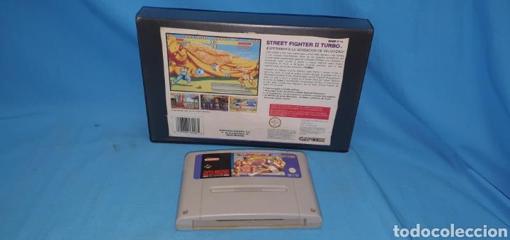 Videojuegos y Consolas: Juego cartucho para súper nintendo street fighter 2 turbo - Foto 3 - 175764490