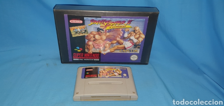 JUEGO CARTUCHO PARA SÚPER NINTENDO STREET FIGHTER 2 TURBO (Juguetes - Videojuegos y Consolas - Nintendo - SuperNintendo)