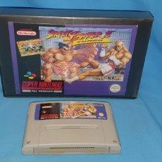 Videojuegos y Consolas: JUEGO CARTUCHO PARA SÚPER NINTENDO STREET FIGHTER 2 TURBO. Lote 175764490