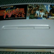 Videojuegos y Consolas: FINAL FIGHT SUPER FAMICOM NTSC NINTENDO SNES CAPCOM. Lote 246010925