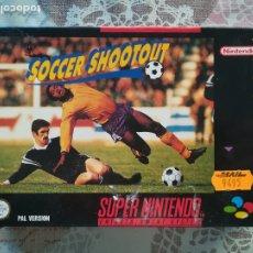 Videojuegos y Consolas: SOCCER SHOOTOUT SUPER NINTENDO SNES PAL ESP. Lote 175969442