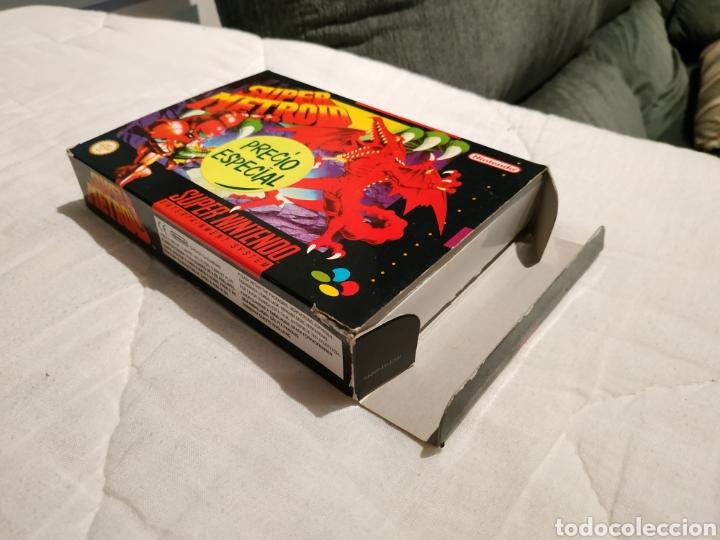 Videojuegos y Consolas: Super Metroid SUPER NINTENDO SNES - Foto 3 - 175595153