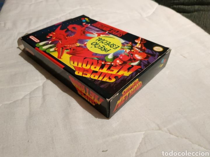 Videojuegos y Consolas: Super Metroid SUPER NINTENDO SNES - Foto 5 - 175595153