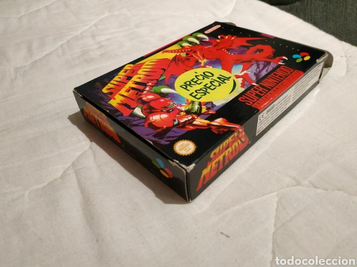 Videojuegos y Consolas: Super Metroid SUPER NINTENDO SNES - Foto 6 - 175595153