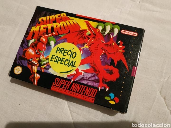 Videojuegos y Consolas: Super Metroid SUPER NINTENDO SNES - Foto 7 - 175595153