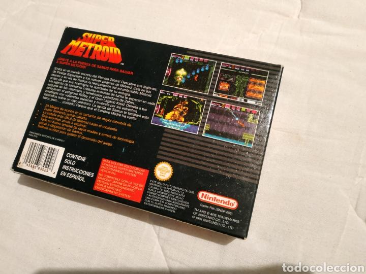Videojuegos y Consolas: Super Metroid SUPER NINTENDO SNES - Foto 8 - 175595153