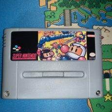 Videojuegos y Consolas: SUPER BOMBERMAN SUPERNINTENDO SNES SUPER NINTENDO. Lote 176192315