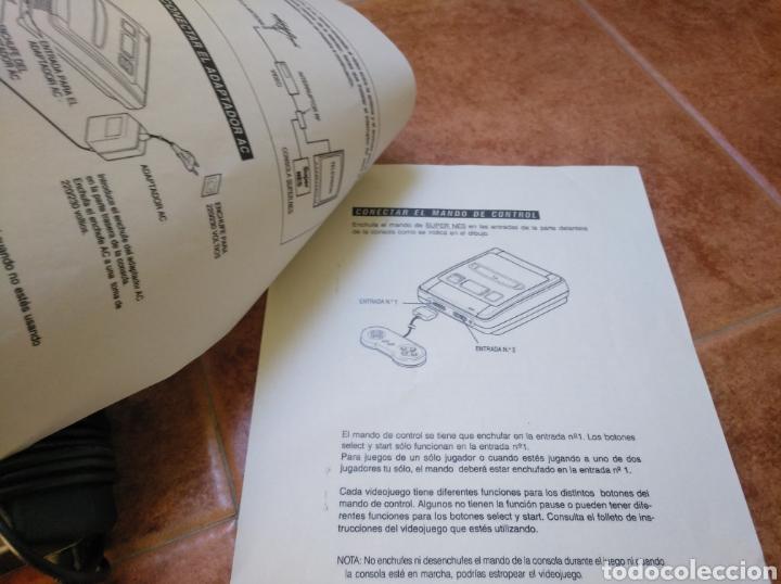 Videojuegos y Consolas: Consola super Nintendo original 1992 super street fighter 2 con mando y cables originales. - Foto 6 - 176203450