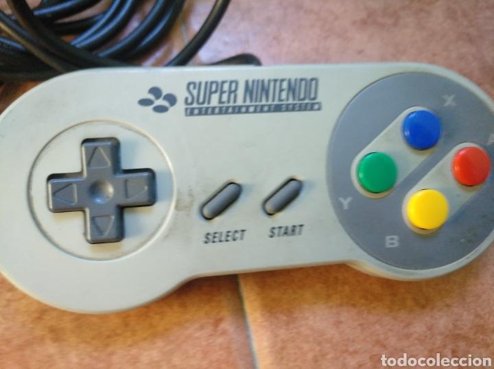 Videojuegos y Consolas: Consola super Nintendo original 1992 super street fighter 2 con mando y cables originales. - Foto 14 - 176203450