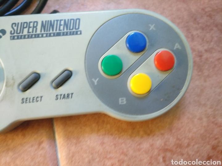 Videojuegos y Consolas: Consola super Nintendo original 1992 super street fighter 2 con mando y cables originales. - Foto 25 - 176203450